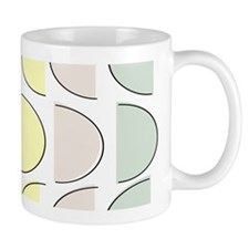 Mid-Century Modern Abstract 9 Mugs