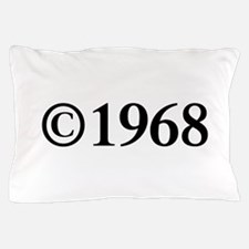 Copyright 1968-Tim black Pillow Case