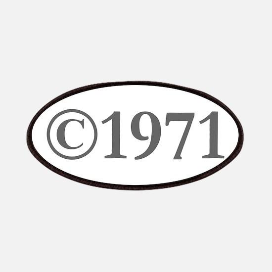 Copyright 1971-Gar gray Patch