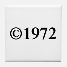 Copyright 1972-Tim black Tile Coaster