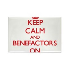 Keep Calm and Benefactors ON Magnets