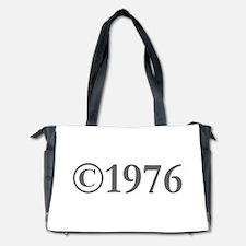 Copyright 1976-Gar gray Diaper Bag