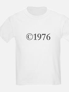 Copyright 1976-Gar gray T-Shirt