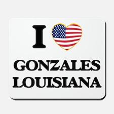 I love Gonzales Louisiana Mousepad