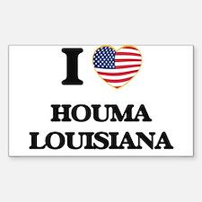 I love Houma Louisiana Decal
