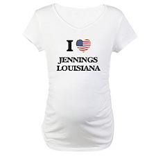 I love Jennings Louisiana Shirt