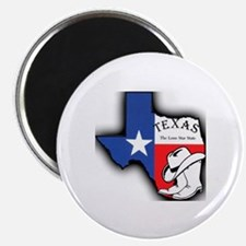 Texas Outline, The Lone Star State Magnet