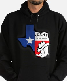 Texas Outline, The Lone Star State Hoodie