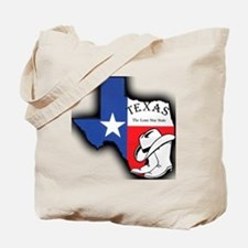 Texas Outline, The Lone Star State Tote Bag