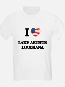 I love Lake Arthur Louisiana T-Shirt
