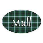 Tartan - Mull dist. Sticker (Oval)