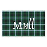 Tartan - Mull dist. Sticker (Rectangle 10 pk)