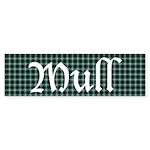 Tartan - Mull dist. Sticker (Bumper 10 pk)