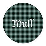 Tartan - Mull dist. Round Car Magnet
