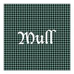 Tartan - Mull dist. Square Car Magnet 3