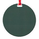 Tartan - Mull dist. Round Ornament