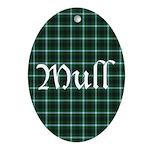 Tartan - Mull dist. Ornament (Oval)
