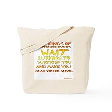 Unforseen Events - Kerouac Tote Bag