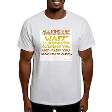 Unforseen Events - Kerouac T-Shirt