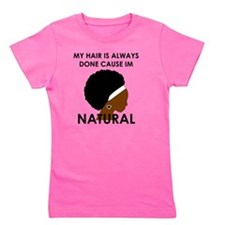 Natural Girl's Tee