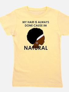 Natural Girl's Tee