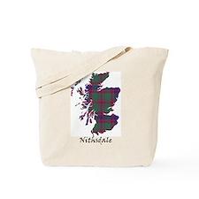Map - Nithsdale dist. Tote Bag