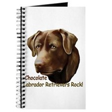 Chocolate Labs Rock Journal