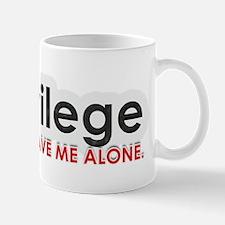 Check Privilege Mugs