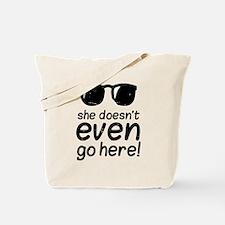 Mean Grls Tote Bag