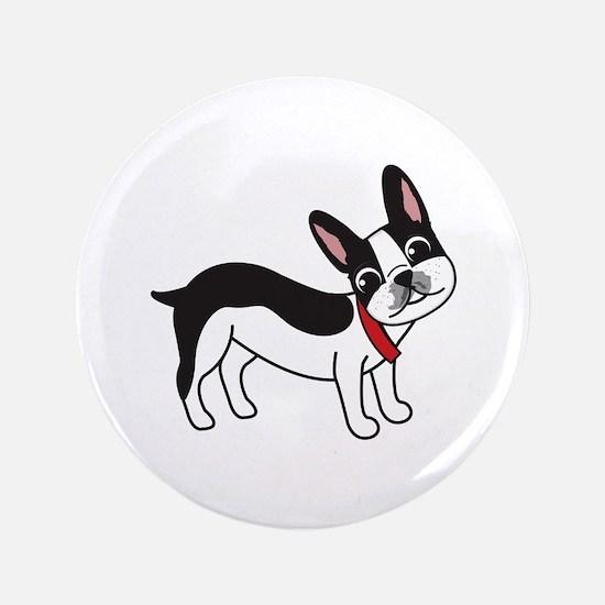 Boston Terrier Chuy Button
