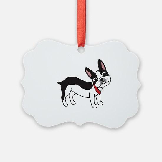 Boston Terrier Chuy Ornament