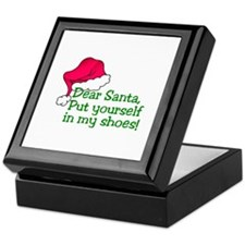 Put Yourself In My Shoes! Keepsake Box