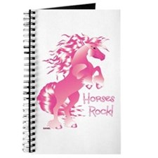 Horses Rock- Pink Journal
