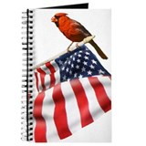 Cardinal bird Journals & Spiral Notebooks