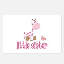 Little Sister Giraffe Postcards (Package of 8)