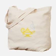 Lamp of Knowledge Tote Bag