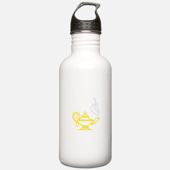 Lamp of Knowledge Water Bottle