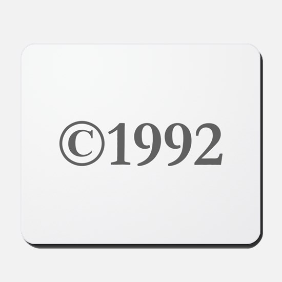 Copyright 1992-Gar gray Mousepad