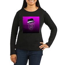 Elegant Skull with hat,hot pin Long Sleeve T-Shirt