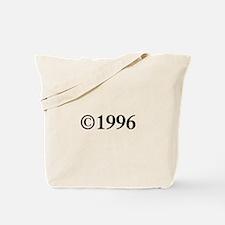 Copyright 1996-Tim black Tote Bag