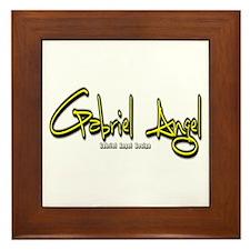 Gabriel Angel Framed Tile