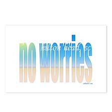 Funny Worries Postcards (Package of 8)