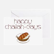 Challah-Days Greeting Card