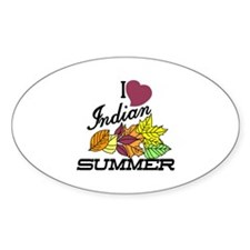 I Love Indian Summer Decal
