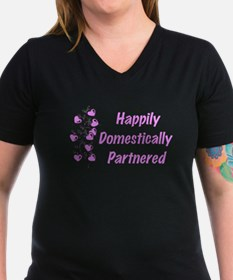 Happily Domestically Partnered Shirt