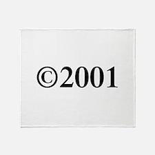 Copyright 2001-Tim black Throw Blanket