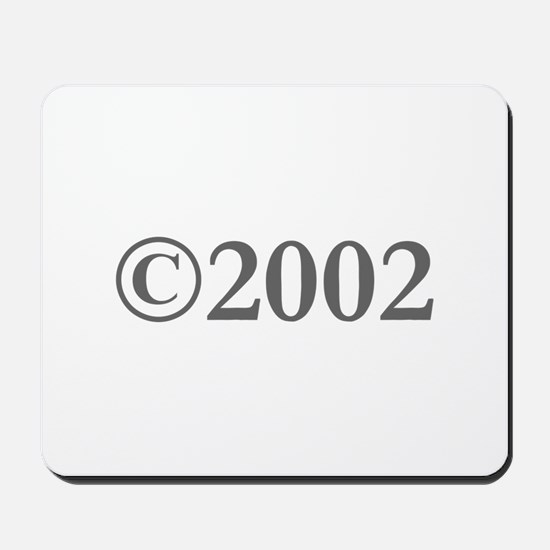 Copyright 2002-Gar gray Mousepad