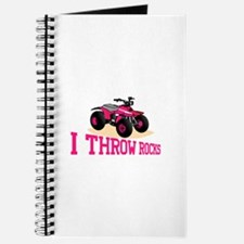 I Throw Rocks Journal