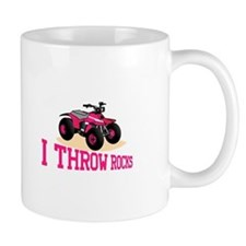 I Throw Rocks Mugs