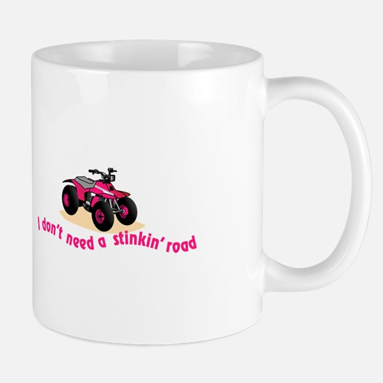 Dont Need Road Mugs